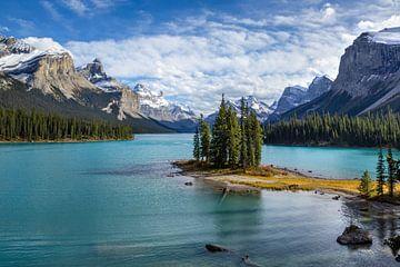 Spirit Island, Maligne Lake, Kanada von Adelheid Smitt