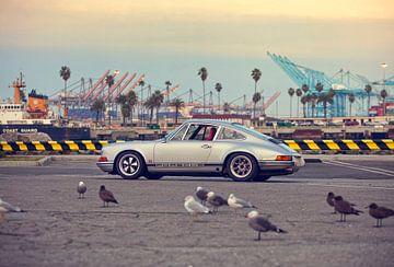 San Pedro Hot Rod - Porsche 911 van Maurice van den Tillaard