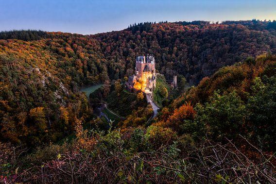 Burg Eltz - Duitsland van Roy Poots