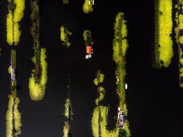 Vinkeveense plassen in de morgen van Ewold Kooistra