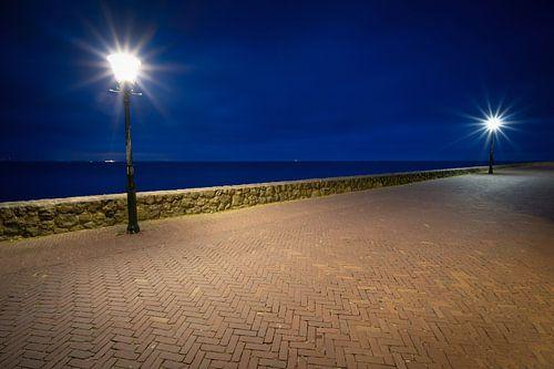 Uitzicht over het IJsselmeer vanaf Urk