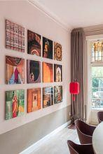 Klantfoto: Taj Mahal schoner, Pavol Stranak (gezien bij vtwonen) van 1x, op canvas