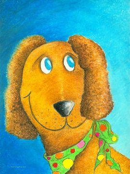 Lefti der höfliche Hund von Atelier BuntePunkt