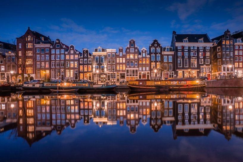 Amsterdam Reflecties van Albert Dros
