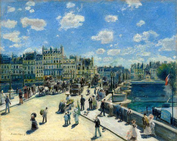 Pont Neuf, Auguste Renoir van Liszt Collection