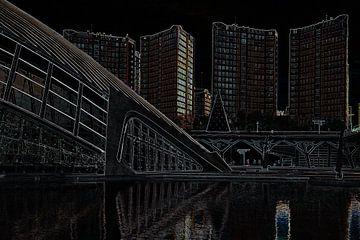Calatrava grafisch van Hans Kool