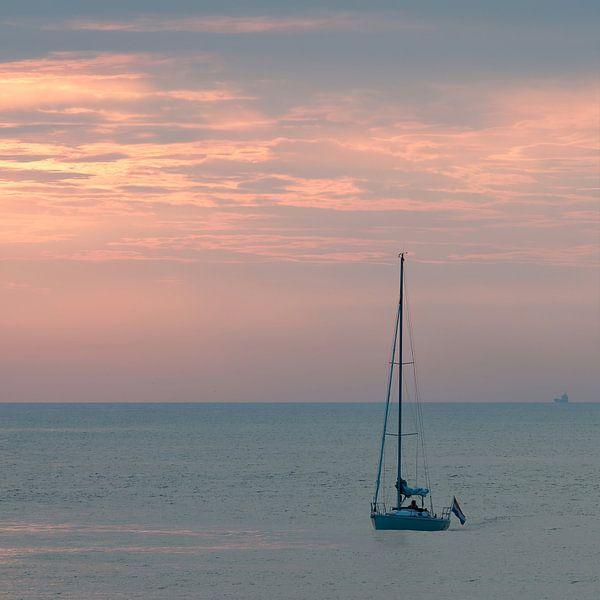 Zeilboot van Sander Strijdhorst