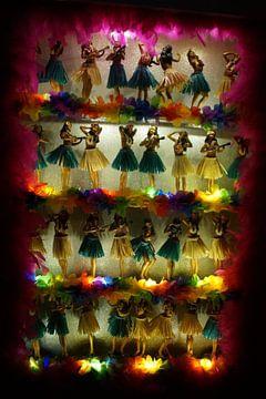 Dansende Hawai-poppen / Dancing Hawaiian Dolls, Sint-Laurenskerk, Rotterdam van Maurits Bredius