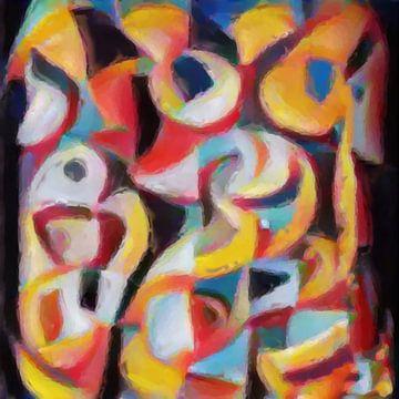 Abstrakte Inspiration LXIX von Maurice Dawson