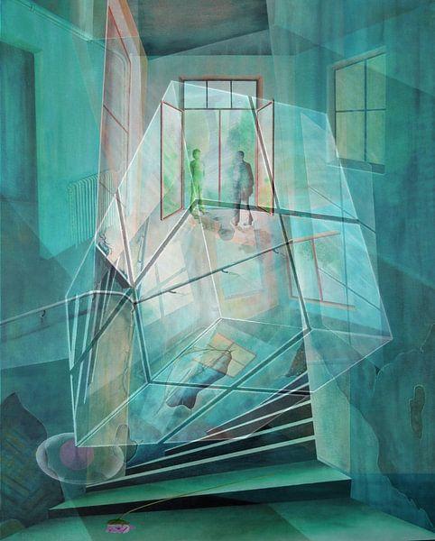 Cubus in de kamer van Gertrud Scheffler