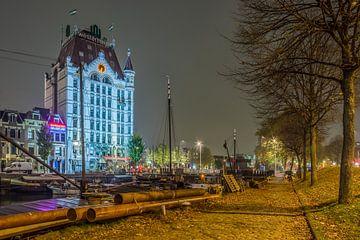 Witte huis oude haven Rotterdam von Danny van Vessem