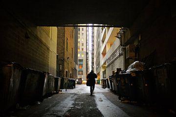 'Langs het vuil', Chicago van Martine Joanne