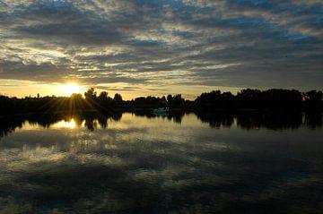 Zonsondergang in de Achterhoek van Arno Wolsink