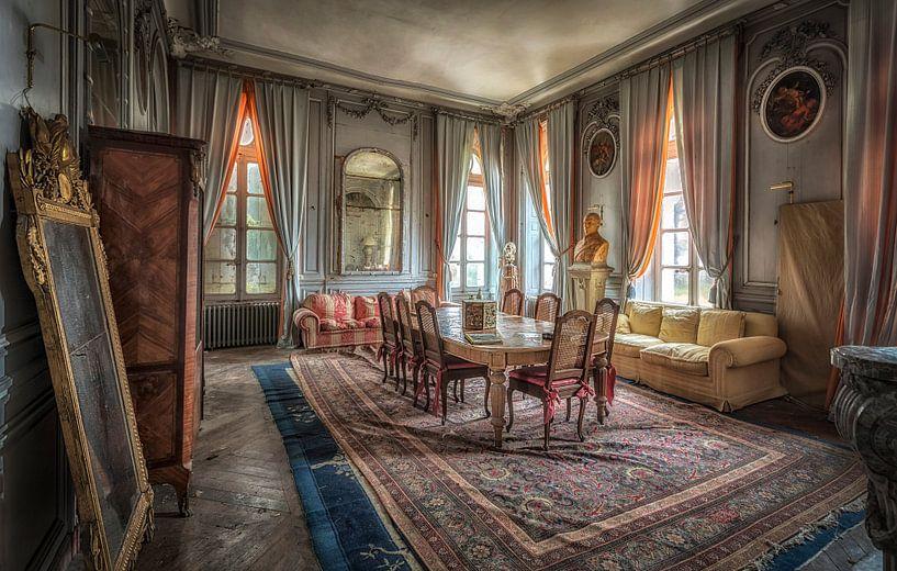 Esszimmer im Schloss von Kelly van den Brande