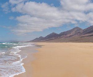 Playa de Cofete, Parque Natural de Jandia, Cofete, Fuerteventura, Canary Islands, Spanje