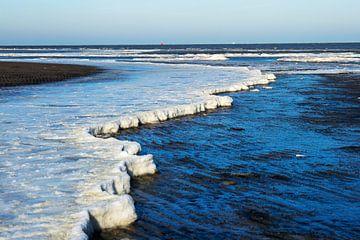Bevroren vloedlijn van Jan Tuns