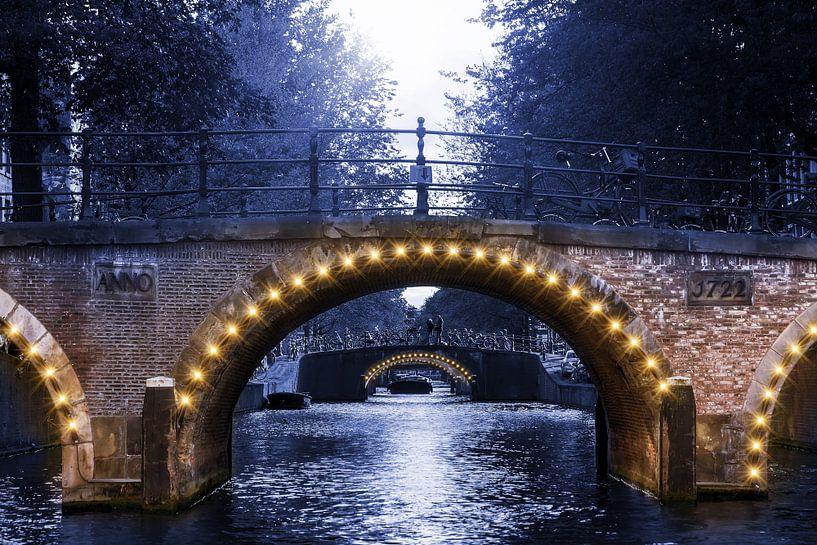 Blue Amsterdam van Dennis van de Water