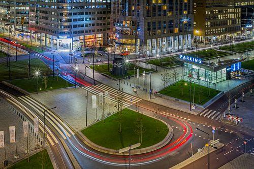 Het Kruisplein in Rotterdam van MS Fotografie