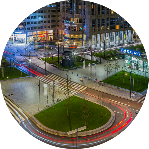 Het Kruisplein in Rotterdam van MS Fotografie | Marc van der Stelt