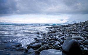 IJsland Water Gletsjer van