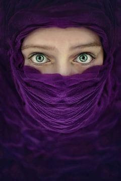 Arabische violet van Elianne van Turennout