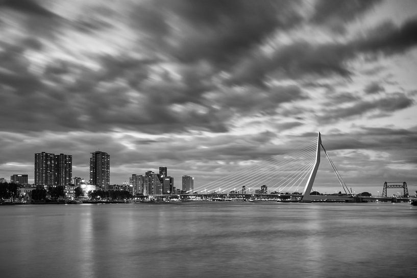 Zwart Wit, Rotterdam van Sander Meertins