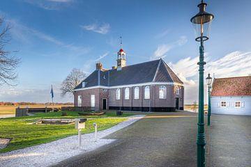Kleine kerk op Schokland van Jan van Dasler