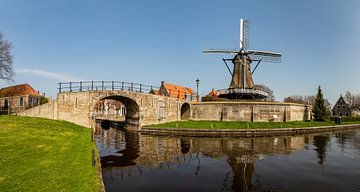 Mühle De Kaai in Sloten, Friesland von Adelheid Smitt