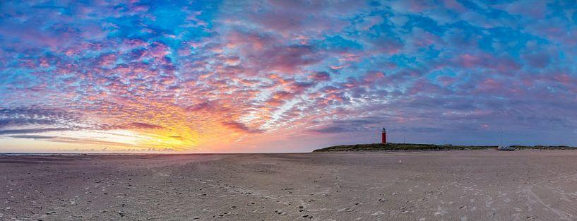 Vuurtoren Eierland Texel zonsopkomst van Texel360Fotografie Richard Heerschap