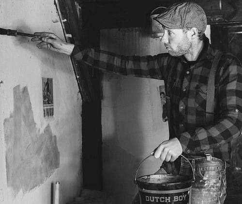 Dutchboy Painter  van