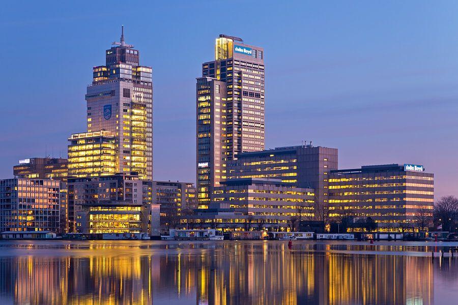 Torens aan de Amstel te Amsterdam van Anton de Zeeuw