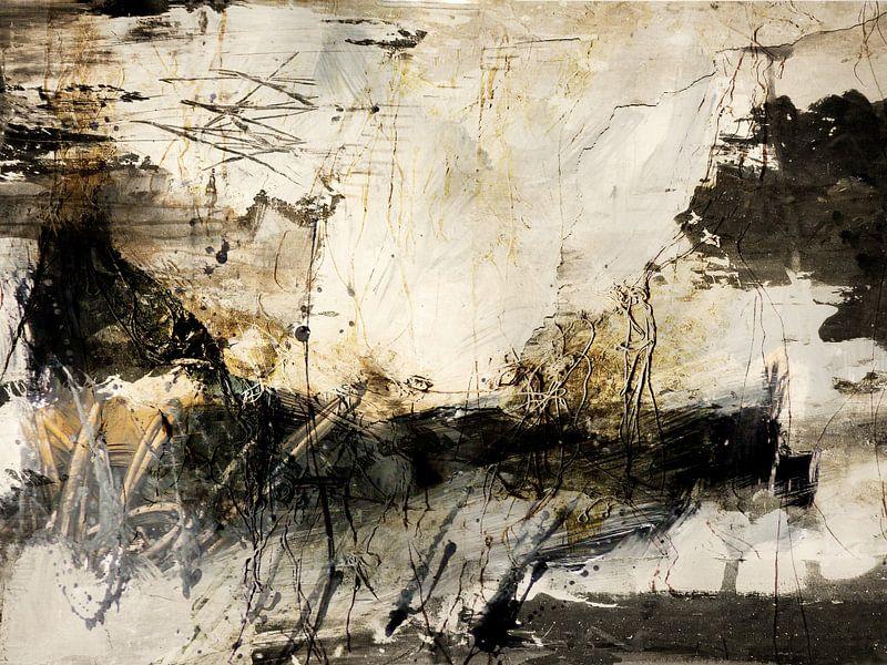 abstrakte Landschaft van Christin Lamade