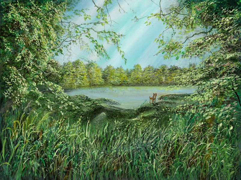 Nature Seat van Silvian Sternhagel