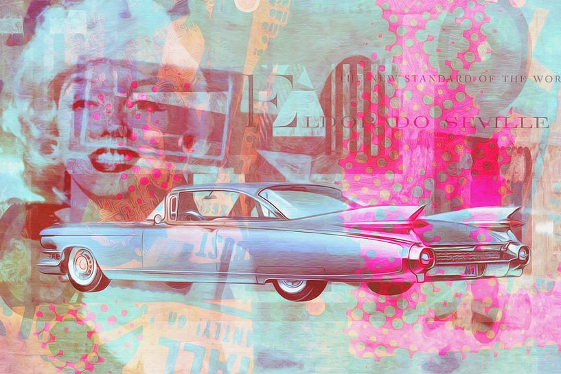 Marilyn Monroe und das Eldorado von 1959 von Joost Hogervorst