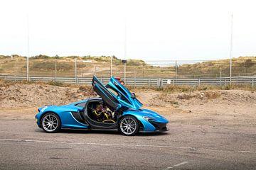 McLaren P1 klaar om te racen! van joost prins
