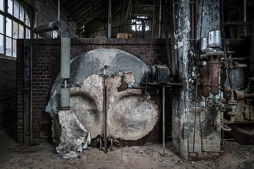 Industrie fabriekshal van Inge van den Brande