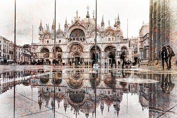 San Marco Quadratische Reflexion von De Afrika Specialist
