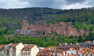 Burg in Heidelberg sur Edgar Schermaul