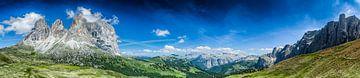 Dolomites de Val Gardena sur Rene Siebring