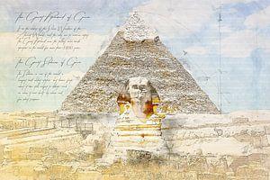 Große Sphinx von Gizeh + Sphinx,  Ägypten