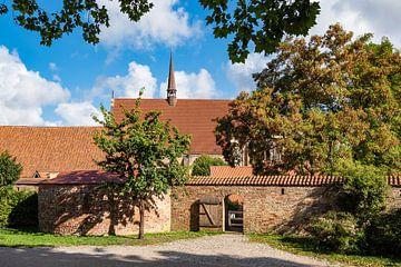 Blick auf das Kloster zum Heiligen Geist in Rostock von Rico Ködder