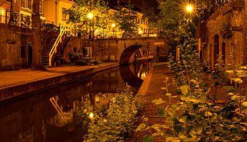 Utrecht Nieuwegracht met Paulusbrug van Marjolein van Middelkoop