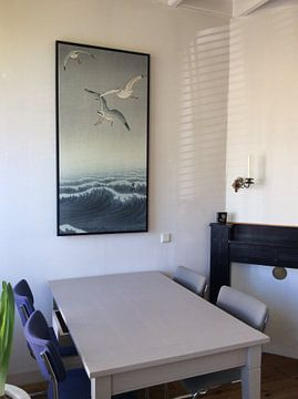 Klantfoto: Drie meeuwen van Ohara Koson