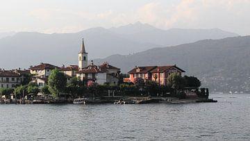 Isola Pescatori - Lago Maggiore Italië van Simon Knot