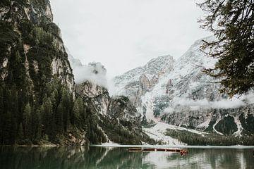 Pragser Wildsee, Dolomiten Italien | Farbenfrohe Reisefotografie | von Trix Leeflang