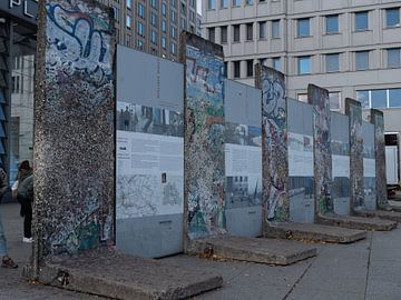 monument berlijnse muur van Henri van Rheenen