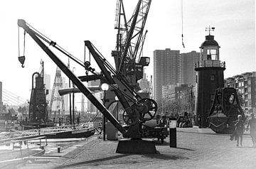 Retro5/ Leuvehaven, Maritiem museum, Rotterdam von Henry van Schijndel