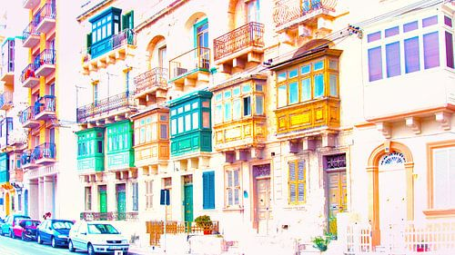 Malta, kleurrijk
