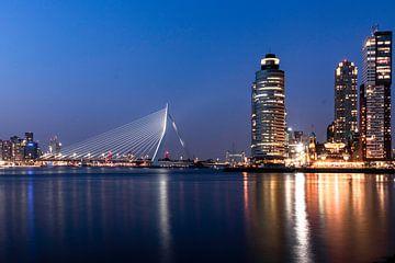 Skyline Rotterdam van Manuel Diaz Alonso
