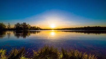 Sonnenuntergang am See von Günter Albers